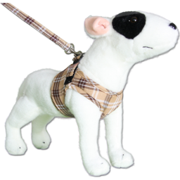 Hundesele Comfy Sele Design Scottish Beige